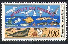 Germany 1990 Birds/Fish/Marine/Crab/Ecology 1v b1124