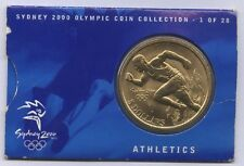 Orig.Medaille  Olympische Spiele SYDNEY 2000 / LEICHTATHLETIK - in Orig.Etui  !!