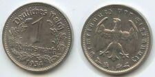 G4611 - Drittes Reich 1 Reichsmark 1934 G Nickel J.354 KM#78 Third Reich