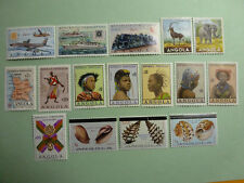 LOT 5357 TIMBRES STAMP POSTE AERIENNE DIVERS ANGOLA ANNEE 1953-1981