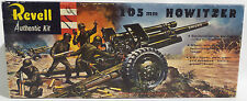 ARMY : 105MM HOWITZER 1958 REVELL MODEL KIT MADE IN 1958 - VINTAGE PRODUCT