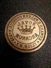 Antique ROYAL ARCANUM Brass Stamp ILION, NY COUNCIL NO. 332 Edward S. WALKER