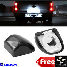 Fit 1999-2013 Chevy Silverado GMC Truck BRIGHT LED License Plate Light Lamp Pair