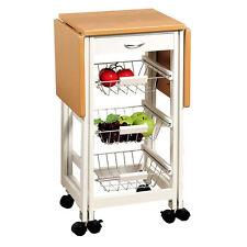 KESPER Küchenwagen 88804 ausklappbar und mit Rollen / Servierwagen