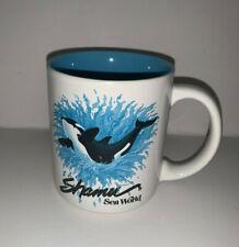 Vintage SEA WORLD - SHAMU - Killer Whale Coffee Mug