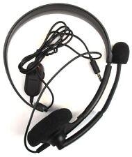 Genuine Microsoft Xbox One Chat Black Headband Headsets for Microsoft Xbox One