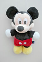 "Genuine Original Disney 10"" MICKEY MOUSE Baby Toddler Very Soft Plush Toy"