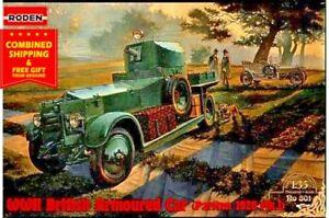 Roden 801 - 1/35 - RR Armoured Car 1920 Pattern MkI 1914 WWI plastic model kit