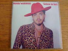 ADAM LAMBERT - COMIN IN HOT - 2 TRACK  BRAND NEW PROMO CD