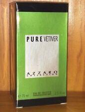 Pure Vetiver  Azzaro 75ml. eau toilette spray