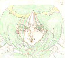 Anime Genga not Cel Battle Angel / Gunnm (handdrawn by YUTAKA MINOWA) #5