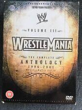 WWE - Wrestlemania Anthology Volume 3 DVD Region 2 WWF 12 13 14 15 16 17