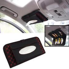Universal Car Accessories Sun Visor CD Hanger Holder Tissue Box Paper Napkin New