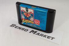 SUPERMAN THE MAN OF STEEL - SEGA MEGA DRIVE 16 BIT GENESIS PAL EU EUR ORIGINALE