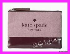 Kate Spade Handbag Wallet Cosmetic Bag Make Up Case Purse Pouch  Jewel NWT