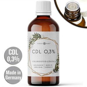 CDL (CDS) Lösung 0,3%, 100ml, Glasflasche mit Dosiertropfer, Apothekenqualität!