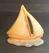 Old Wilton Product Cast Iron Sailboat