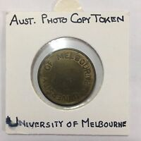 Australian University of  Melbourne Photo Copy Token (3243251C5/21)