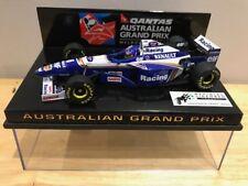 1/43 Minichamps Williams Renault FW18 Villeneuve Australian GP Qantas 1997 WOW !