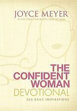 The Confident Woman Devotional: 365 Daily Inspirations by Joyce Meyer HC - NEW!