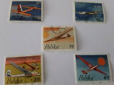 1968 world gliding championship in leszno polish stamps