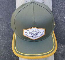 Vans Skateboard Co. Dalton Green Olive Unisex Mens Snapback Hat