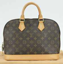 Used Authentic Louis Vuitton Alma LV Bag Monogram 716