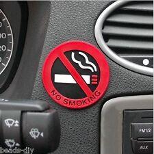 BD 5pcs/lot Car Styling No Smoking Logo Stickers Car Waterproof Reflective Decal