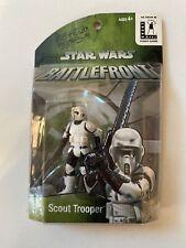 MOC Promo Star Wars Exclusive Battlefront Scout Trooper Biker Scout Action 2004