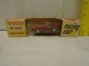 1960's Slot Car, TYCO HO, Jaguar XK-E, Red, MIB, Unused, Vintage