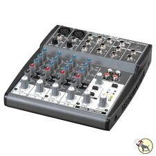 Behringer Xenyx 802 8-Input 2-Bus 3-band EQ Analog Mixer w/ Mic Preamps +Picks