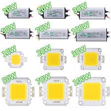 10W 20W 30W 50W 70W 100WLED Driver LED Chip High Power  Supply SMD Waterproof