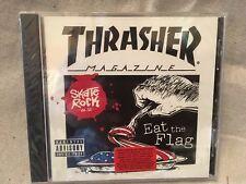 New Thrasher Eat the Flag Skate Rock Music Cd Vol Volume 12