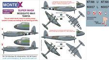 Montex 1/32 Mosquito Mk.VI Paint Mask for Tamiya kit