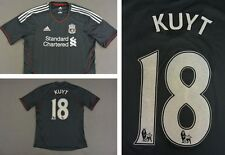 The Reds 2011-12 adidas Liverpool FC Away Shirt KUYT 18 SIZE L (adults)