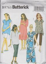 From UK Sewing pattern Maternity Top, Dress, Shorts & Pants  Size 8 - 16 # 5763