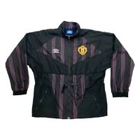 Manchester United Umbro Jacket | Vintage 90s Football Premier League Sportswear