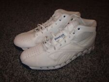 MENS REEBOK ZIG FURY WHITE / WHITE BASKETBALL SHOES in SIZE 13 *CLEAN*