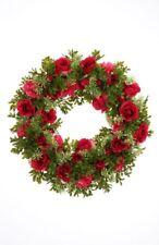 Kunstpflanze*Kranz*Blumenkranz*Dekokranz*Türkranz*Rose*Nelke*Rosenkranz*