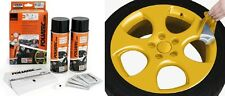 KIT PEINTURE JANTE PLASTIFIANT ELASTIQUE FOLIATEC OR METALLISE Jeep