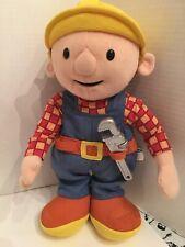Talking Bob The Builder 2001 Tool Plush Stuffed