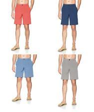 Izod Men's Advantage Performance Solid Hybrid Golf Shorts