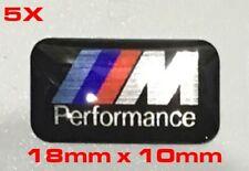 5x BMW M emblème autocollant sticker Perform. m3 m4 m5 m6 e60 e39 e92 f51 f52 x3 x5