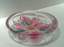 Vintage Embossed Glass Berry/Pin Bowl