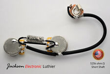Les Paul Jr Wiring Harness Kit 525k CTS Short .022 uF NOS Sprague Vitamin Q Caps