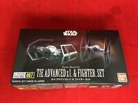 BANDAI Star Wars VEHICLE MODEL 007 TIE ADVANCE x1 / FIGHTER SET Model Kit