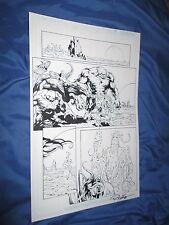 GREEN LANTERN #32 Original Art Page #18 ~Billy Tan/Rob Hunter JLA/MOVIE Comic Art