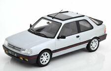 NOREV Peugeot 309 GTi 1987 Echelle 1:18 Voiture Miniature - Futura Grey Metallic