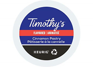 Timothy's World Coffee Cinnamon Pastry K-Cup 24 count