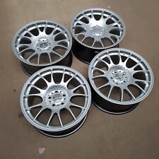 4x CH Style Alloy Wheels 18x9 5x112 Hyper Silver | See Description